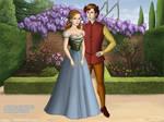 Thumbelina and Cornelius, Tudor Style