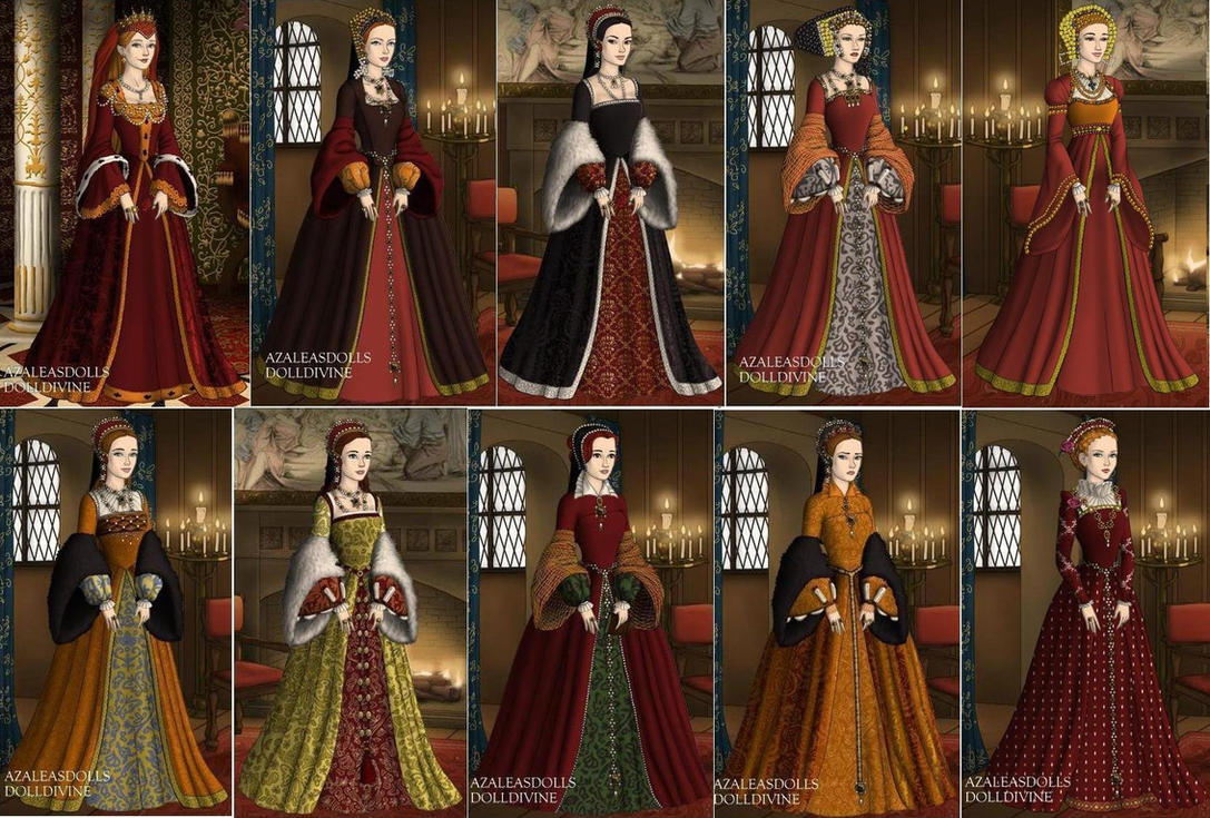 Queens of England in 1500s by TFfan234