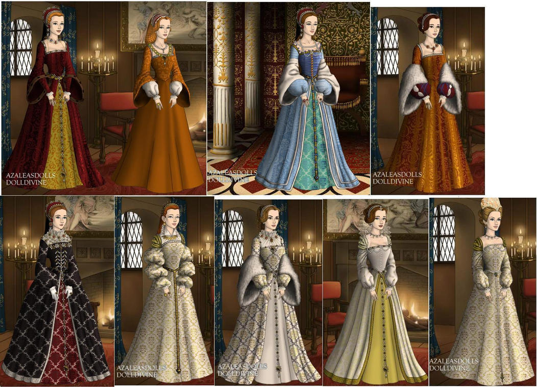 Queens of France in 1500s by TFfan234