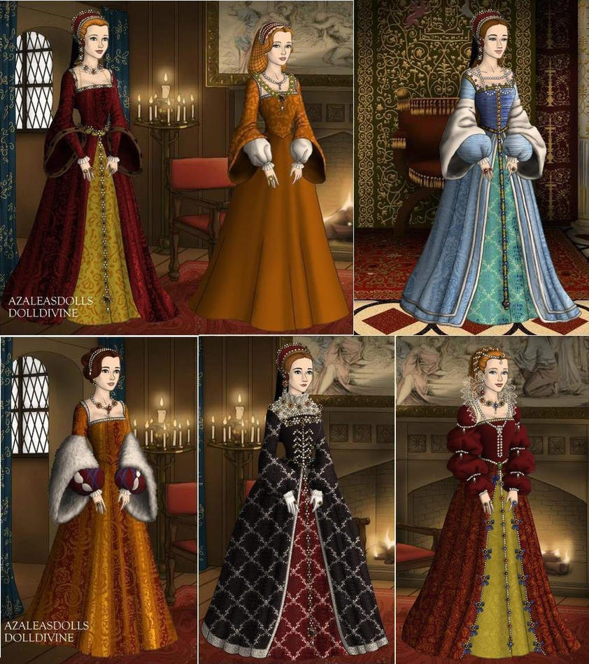 AU Queens of France in 1500s by TFfan234