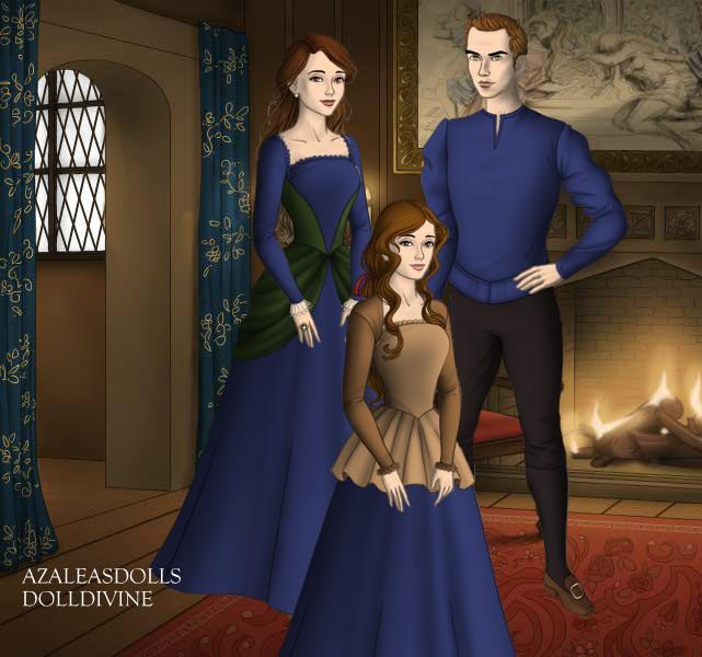 Twilight - Edward, Bella and Renesmee, Tudor Style by ...  Twilight - Edwa...