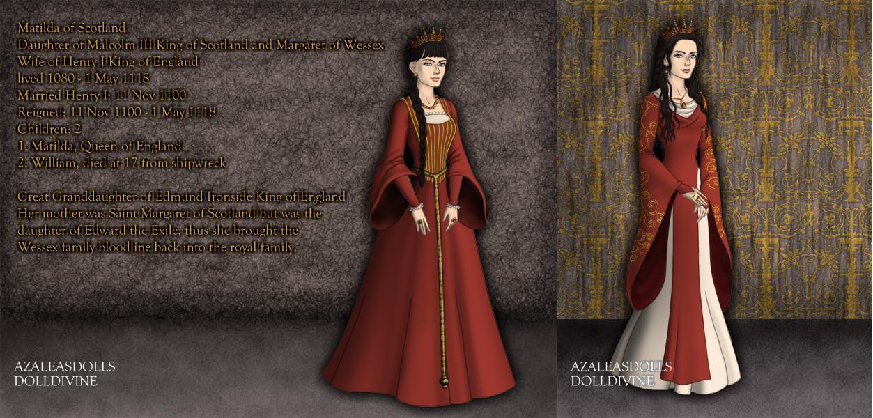 Matilda of Scotland, Queen of England 1100-1118 by TFfan234