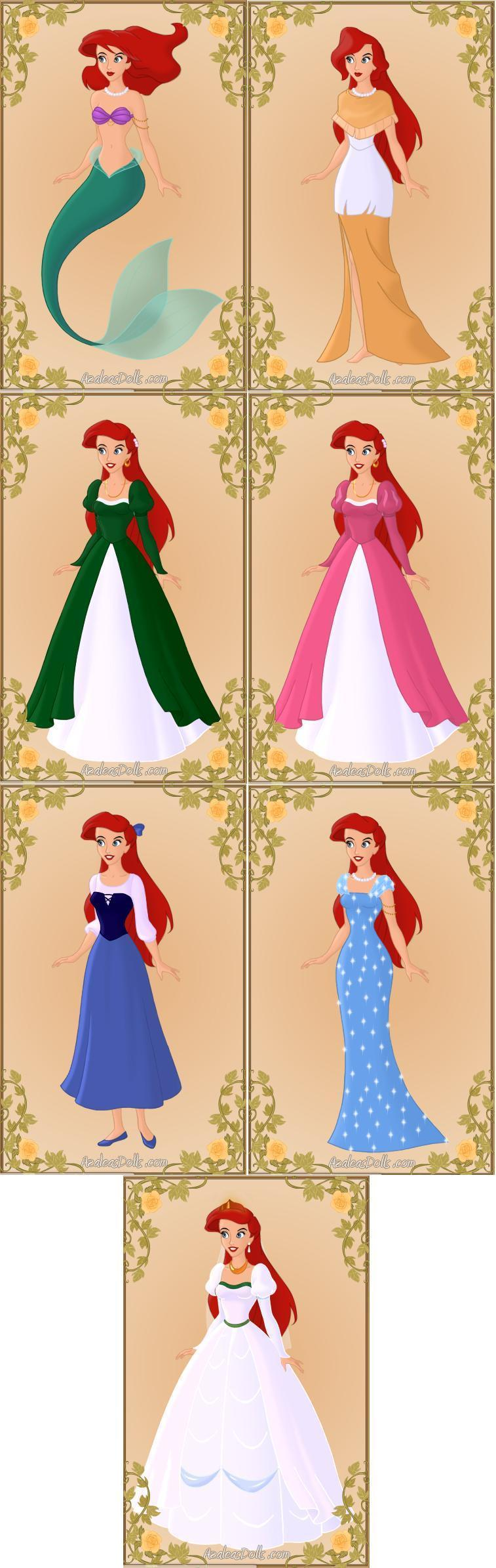 Princess Ariel Iii By Tffan234 On Deviantart