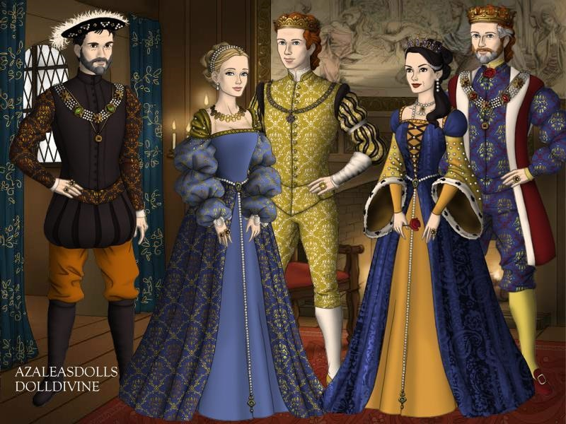 The Tudors and Habsburgs by TFfan234