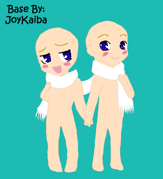 Base: Chibi Couple by JoyKaiba on DeviantArt
