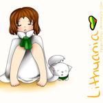 Hetalia - Lithuania Sleeping