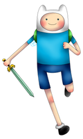Adventure Time - Finn by HayaMika