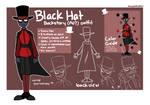 Villainous - Black Hat Backstory AU Outfit Guide