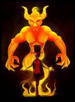 Destructive Fire [Backstory AU]