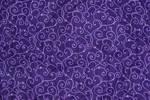 purple swirly fabric