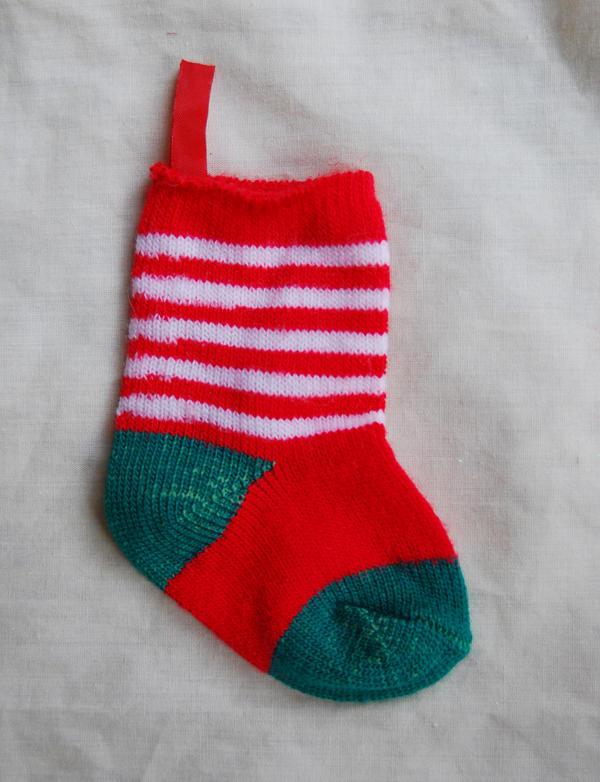 little christmas sock by objekt-stock