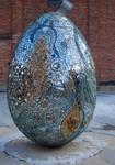 giant mosaic egg