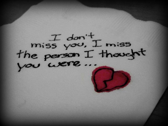 I Don't Miss You by xxxVioletRainxxx