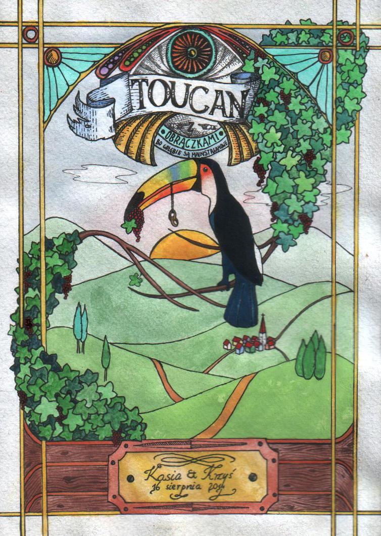 Toucan for Kasia by Zalin