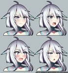 [CM] Anaema Bust Expression Sheet