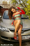 Gipsy latex girl