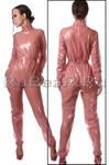 Latex pajamas suit