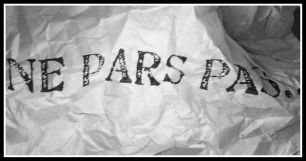 ne pars pas... by PercyLilou
