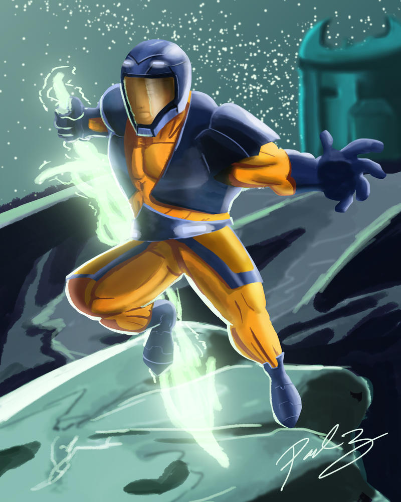X-O Manowar by PaulSkywalker