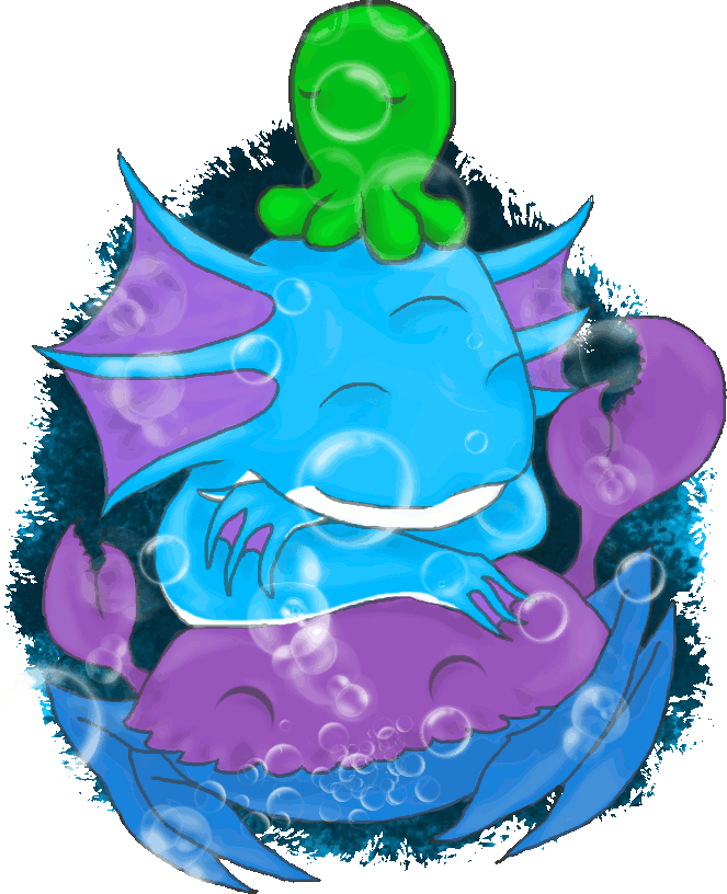 Hylotl Loves Crab by Shades302