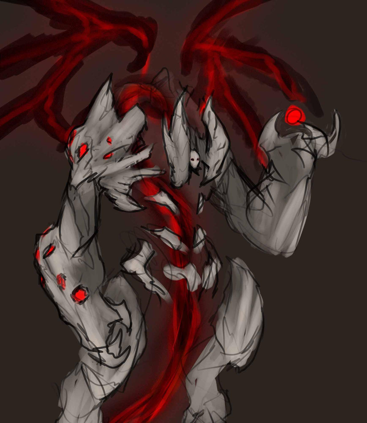 Darksiders -- Lucifer by DerTodesbote on DeviantArt