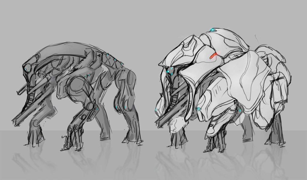 Warframe -- Concept: Loxodont by DerTodesbote