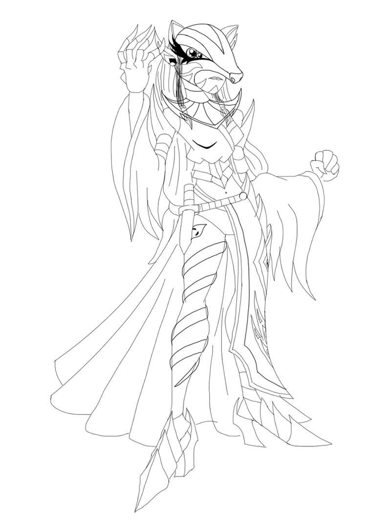 Kyuubi Lilith (Draft) by nigel5469