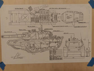 Old tank sketch
