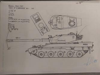 Old tank sketch II