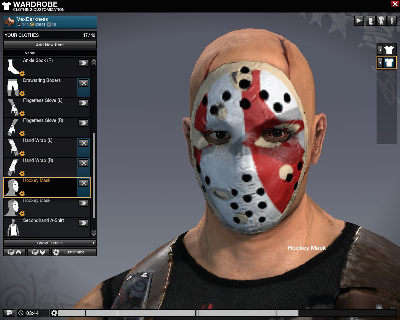 Tricked out hockey mask by zotax on deviantart