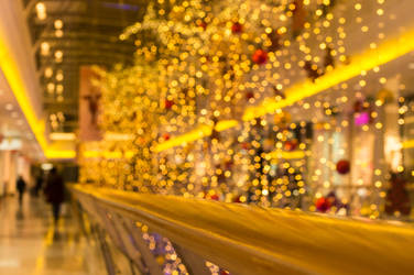 Christmas mall decorations by VohuManah