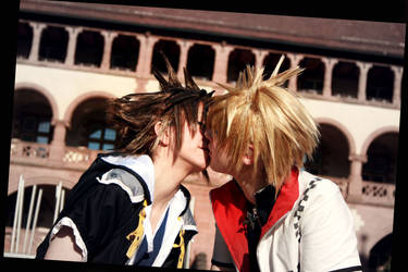 kiss me by Firiless