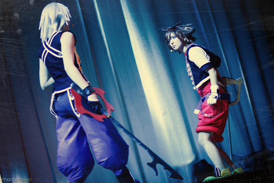 Kingdom Hearts - meet in the darkness by Firiless