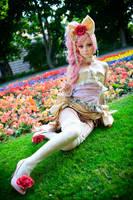Sakizou - flower pony by Firiless