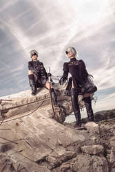 Nier - Glory to mankind by Firiless