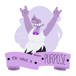 you have a purpose * su by non8inary
