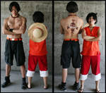 OP: Ace and Luffy