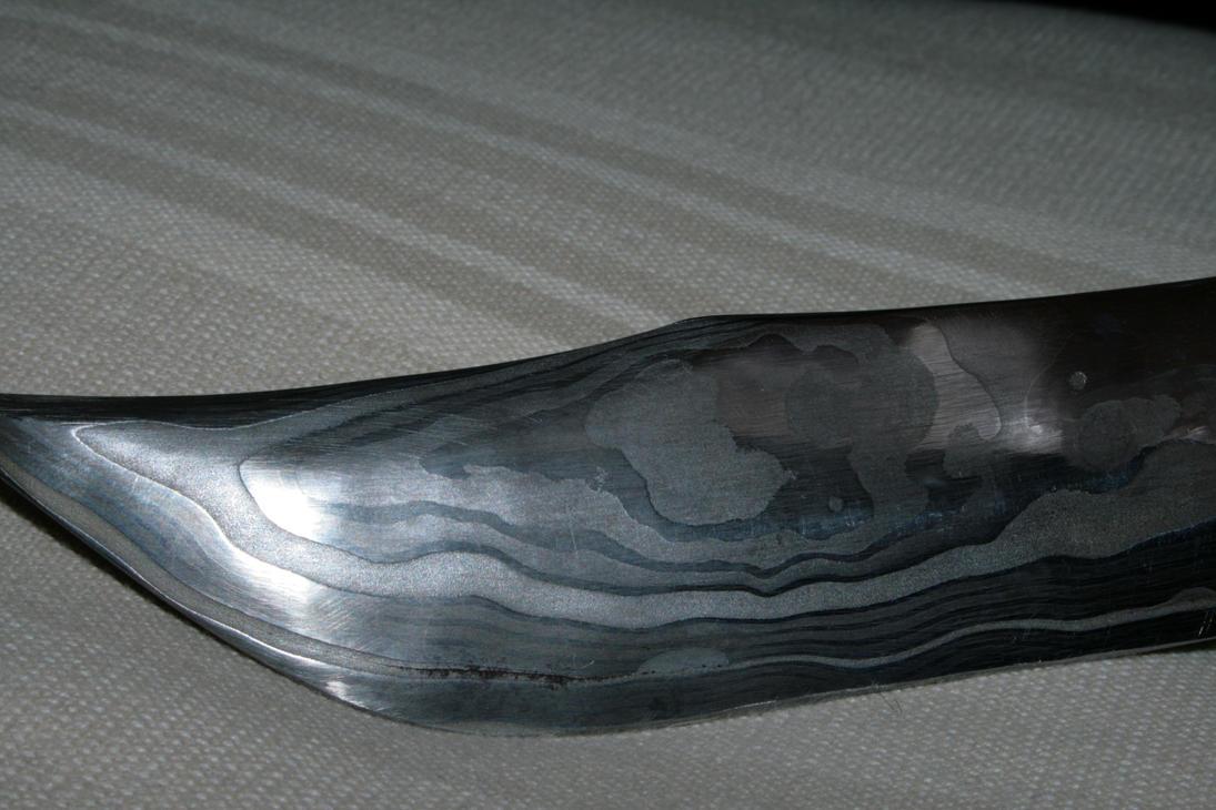 Couteau damas - Damas knife 3 by S4n60kU
