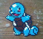 Pokemon - Squirtle made from Pyssla beads