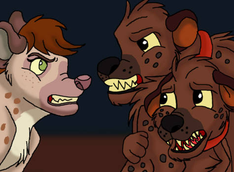 The worst hyena Bud and Lou met