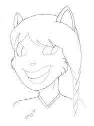 Kitty girl by Dreygone