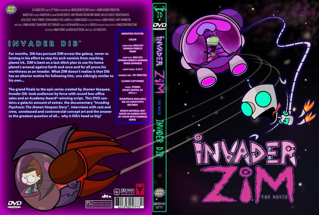 Invader ZIM The Movie: I.D. by Sokolov