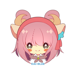 Chibi Icon For Deerylou by dAi-Blue