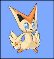 Victini by EclipseThe1st