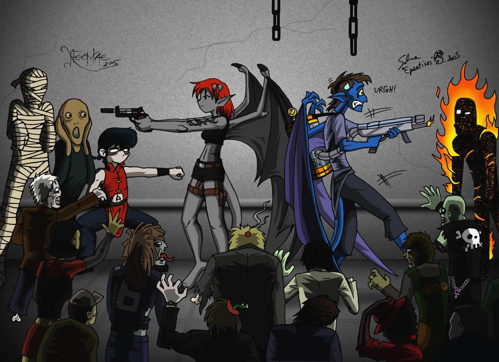 Resident Evil Suvivors - dark by Neomae
