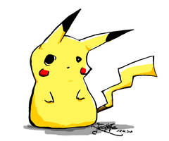 Pikachu by Neomae