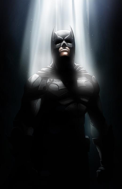 The Dark Knight by Niyoarts