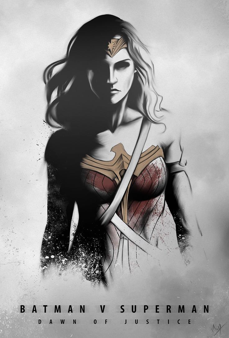 DAWN OF JUSTICE - WONDER WOMAN by Niyoarts on DeviantArt