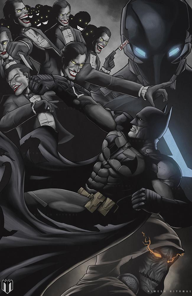 Arkham Knight Poster by Niyoarts