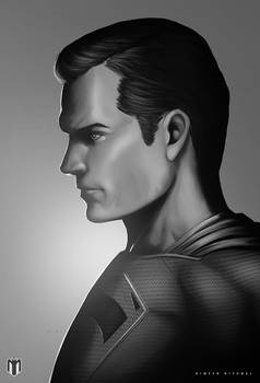 Justice League Character Posters-Superman